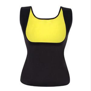 Neoprene Sauna Shirt Sweat Workout Tank Top Slimming Vest Compression Shapewear No Zipper Women Body Shaper 120pcs
