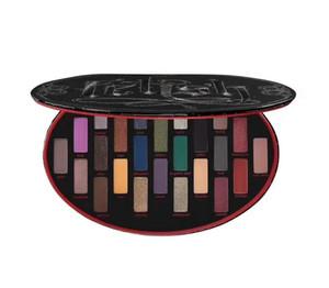 Maquillaje de ojos Kat Von D Fetiche 24colors Edición del reflejo de la gama de colores Negro Limited y Mate KVD sombra de ojos