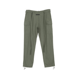 Logo Donggian_wholesale Top Quality calças cargo Green Men Army Pants Streetwear Casual Joggers Carga Calças