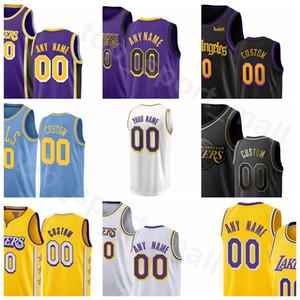 Sérigraphier Basketball Kyle Kuzma Jersey 0 Davis 3 LeBron James Avery Bradley 23 Danny Green Dwight Howard Troy Daniels Homme Femme Jeunesse