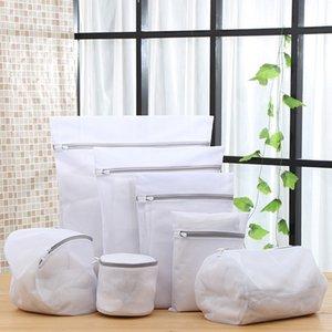 Paket Kalın Güzel Örgü Çamaşırhane Çanta Yıkama Giyim Bakım Yıkama Kalın Mesh Çanta Yıkama Torbası Özel Toptan