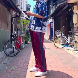 19SS Calças borboleta bordado slides Calças Moda Pants Homens e mulheres de alta qualidade Designer Pants HFWPKZ098