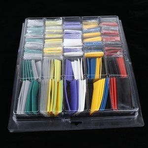 Paquet de 500 tubes Tube Thermorétractables électrique Tube d 'isolation Kit Wire Wrap
