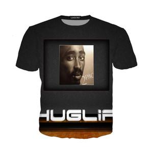 Newest Popular Singer Rapper Tupac 2pac T Shirt Men Women Unisex Funny 3d Print Summer Short Sleeve O Neck Crewneck Casual Tops A130