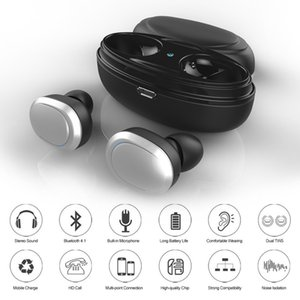 T12 Twins Bluetooth Earphone Stereo tws Headphone Wireless Earbuds with Magnetic Charger Box for iPhone x Max Andriod Smartphone pk i10 i12