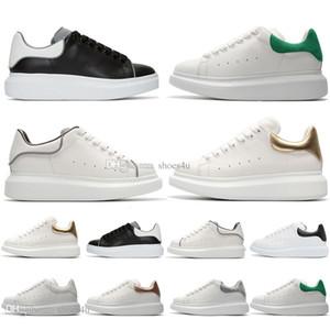 Nova temporada preto branco reflexivo mens sapatos de grife 2019 moda designer de luxo sapatos femininos plataforma de festa tênis casuais EUR 36-45