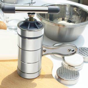 1PC Metal Stainless Steel Manual Noodle Maker Household Pastas Making Machine Presse Spaetzle Maker