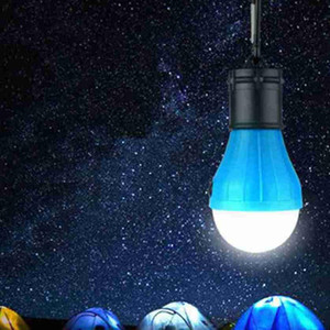5 Colors 3LED Camping Lamp Emergency Lights Outdoor Tent Lamps Christmas Decoration Hanging Lights Portable Lanterns Furniture ZZA2339 50Pcs