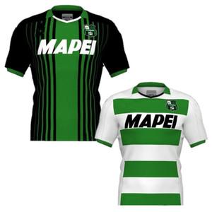 2020 Sassuolo Futbol Forması 2019/20 PRINCE Lirola Deplasman Futbol Üniforma Erkek Sassuolo Kısa Kollu Futbol Gömlek
