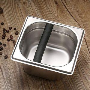 Coffee Klopfen Box, Espresso Box Knock, Knock Box Espresso Knock Box Stainless