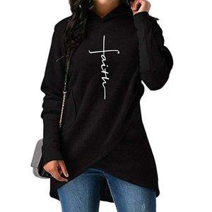 Mujeres largo suéter con capucha de impresión de la historieta de manga larga con capucha Bolsillos Splited capucha Jerseys vestido Sudadera con capucha Minecraft