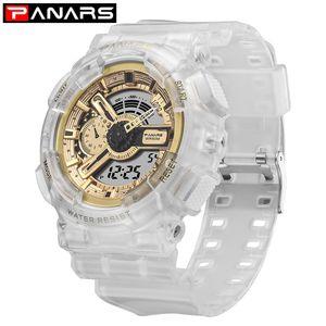 Новое прибытие Цифровые часы Мужские LED Тактический цифровые часы Открытый Многофункциональный воды Proof спортивные часы Relojes Hombre