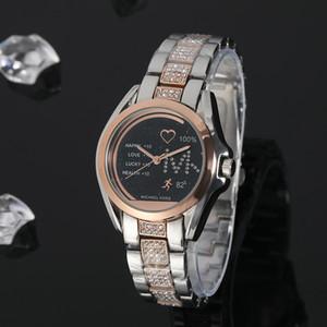 2019 Mujeres de lujo de China Reloj de pulsera Cuarzo-Batería Diseñador Damas Impermeable Vestido Diamante Acero inoxidable Oro Plata T / T T Relojes