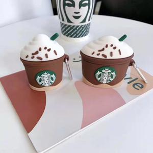 Per AirPods Pro caso 3d Starbucks Coppa in silicone protettiva per Apple AirPods Pro Charging Box Cover