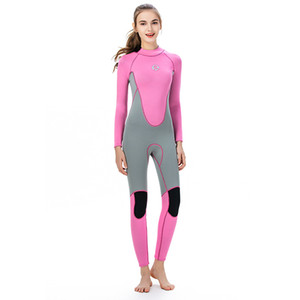super stretch wetsuits for ladies full suit flatlock stitching swimming surfing diving suit customized logo and design available