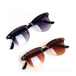 New Gradient Lens Round Sunglasses Women Men Vintage Nail Decoration Retro Sunglasses Brand Design Shades Oculos Newclipper
