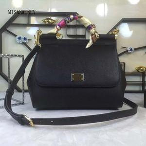 Designer-Outono adiantado cópia nova moda palma código importados mão couro mochila média cor