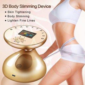 RF LED بالموجات فوق الصوتية 3D الجسم التخسيس مدلك رفع الجلد تجديد الدهون الموقد إزالة السيلوليت التخسيس تشديد جهاز