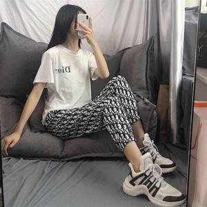 2020 Nouveau Designer Été Mode Pantalons sports occasionnels pour les femmes, Pantalons pour hommes, lâche et confortable Version Livraison gratuite