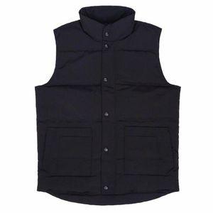 Tasarımcı Ünlü Kaz Tüyü Kış Ceketler Erkekler Kadınlar Markalar Yüksek Kaliteli Tasarımcı Lüks Man Ceket Moda Erkek Kış Yelek Boyut S-2XL