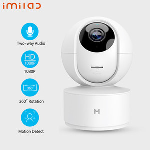 Version mondiale IMILAB Caméra IP vision nocturne intelligente MiHome App 360 degrés connexion Wi-Fi Home Security Camera 1080P Baby Monitor pour Xiaomi