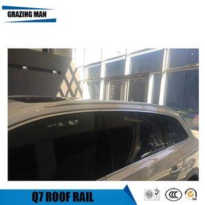 عالية الجودة سقف السكك الحديدية لQ7 سقف الرف الشريط الجانبي الاكسسوارات LUGGAGE CARRIER السيارات