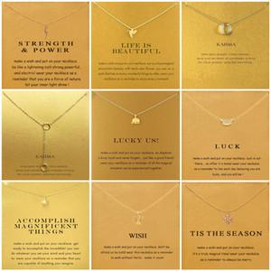 9 أنماط الفيل الشمس المشرقة دائرة الصليب القلائد المعلقات الحد الأدنى سلسلة قلادة قلادة للنساء مجوهرات بطاقة هدية