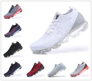 En gros nouveaux Vapeurs FK 2.0 chaussures de jogging hommes Moc DESIGNER bas de luxe 3.0 triple tricot sport noir et blanc BE chaussures de sport TRUE