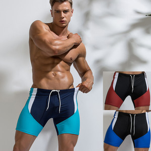 Costume Zwembroek homens Swimwear Verão Sportswear Surf Natação Trunks Boxer Swimsuits Sunga Masculina Da Bagno Uomo
