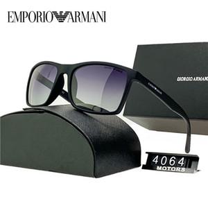 نظارات إطارات مربع 2019 مصمم العلامة التجارية نظارات شمسية للرجال والنساء بدون إطار الأحمر عدسة النظارات الشمسية الإطار المعدني النظارات الشمسية العلامة التجارية