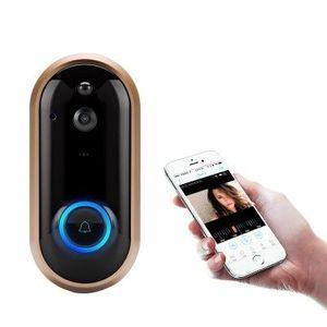 1080P Smart WiFi Doorbell Intercom Video Ring IR Entry Door Alert Wireless Security Chime Door Cam Alarm with Camera
