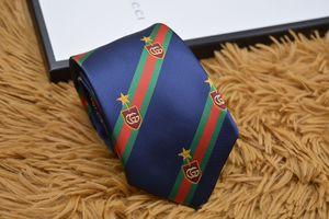 Luxus Designer Krawatte hohe Qualität 100% Seide Krawatte Modemarke Geschenkbox 7-8 cm klassische Ausgabe Marke Männer Casual Schmale Krawatte 15 Stil G110