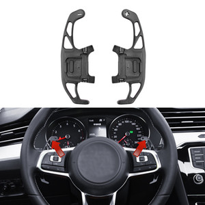 Für VW GOLF GTI R GTD GTE MK7 7 POLO GTI Scirocco 2014-2019 Metall Auto-Lenkrad-Paddel-Extend Shifter Replacement