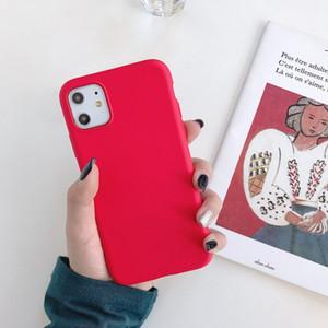 Ultra Couleurs bonbons mince TPU cas de téléphone pour l'iPhone 11 Pro Max XR XS MAX X 6S 7 8 plus gros Moins cher à l'intérieur Microfibre Prix Hight Qualité