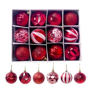 6CM Christmas Balls Christmas Tree Decorations Festival Ornaments Decoration Ball New Year Gifts