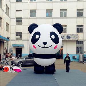 Inflable gigante globo Panda y bolsa con luz LED para discoteca o fiesta de la boda Music Park Decoración