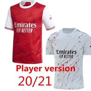 Player Version Arsen Fußball-Trikot 20 21 PEPE NICOLAS CEBALLOS HENRY GUENDOUZI SOKRATIS MAITLAND-NILES TIERNEY 2020 2021 Fußballhemd Männer