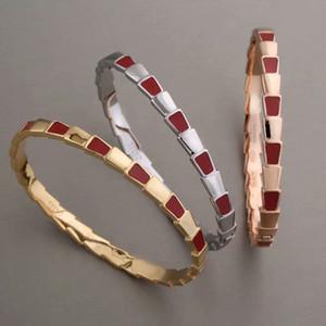 Braccialetti di amore di alta qualità in acciaio inossidabile 316L B braccialetti di amore per le donne strisce di colore all'ingrosso Bracciale di signore fibbia gocce