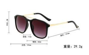 LOGO ile new Mens Womens Marka 0321 Güneş Gözlüğü Kanıt Güneş gözlükleri Tasarımcı Cilalı Siyah Çerçeve Gözlük Gözlük Ücretsiz Kargo