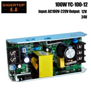 TIPTOP YC-100-12 Power Supply Board 100W Per 54x1W ha condotto la luce par / 54x0.75W Led Par light / LED Wall Washer luce RGB 3IN1