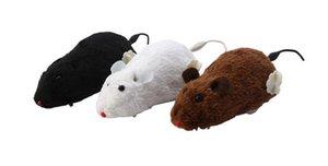 Furry haarige Mäuse necken Katzen und Mäuse, Spielzeug kann, Mäuse necken Katzen und Mäuse, 20pcs / lot WL447 laufen