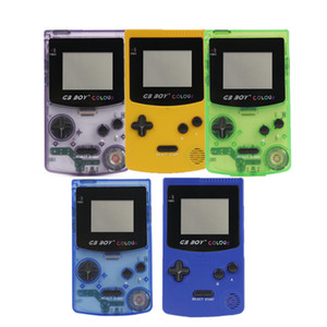 GB Boy Colour Color Handheld Game Player Portable Classic Game Console Consoles With Backlit 66 Built-in Games With battery