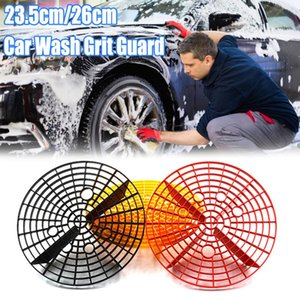 1PC 23 / 26cm Multicolor Car Wash Grit Wache Insert Washboard Wassereimer Filter Scratch Schmutz Auto-Reinigungs-Werkzeug Isolation Net