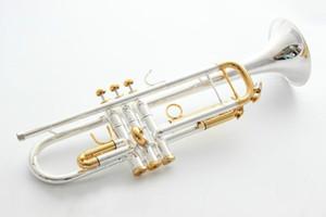 Tromba originale di alta qualità tromba LT180S 72 in argento placcato strumenti musicali prestazioni Super professionale di trasporto libero