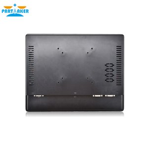 Partaker 12.1 Inch Industrial Touch Panel PC Intel 3855U All in One Computer 4 Wires Resistive Touch Screen Windows 7 10,Linux