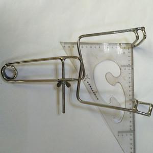 높은 품질의 스테인레스 스틸 항문 스판 더 독창적 인 Expender 항문 확장 항문 검사 항문 봉합기 확대기 엉덩이 플러그 Y19070102
