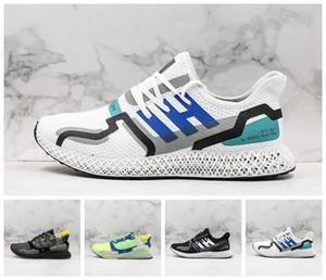 ADIDAS Hender Schema Mens ZX 4000 Futurecraft 4D scarpe da corsa formatori per gli uomini ZX4000 Sneakers carbonio sport maschio Trainer haussures 40-45