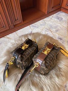 New 2020 Vintage-Presbyopic Handbag Fashion Ein Schulter schiefes Kreuz Tasche Weibliches Boston Messenger Bags Mädchen-Frauen-Luxus-Frauen-Handtaschen