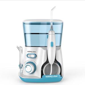 Flosser dentaire oral de Flosser de l'eau d'Irrigator avec 5 bouts de jet et décapant dentaire dentaire de cas de cas électronique