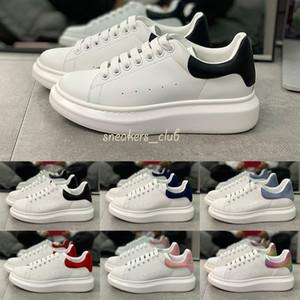 2020 Männer Frauen Freizeitschuhe 3M Reflective Turnschuhe Leder schwarz weiß Mode Frauen flache Schuhe Turnschuhe Größe 36-45